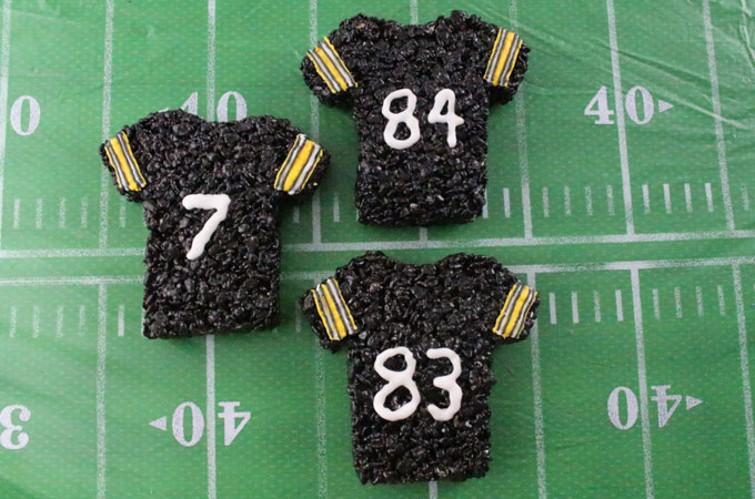 Pittsburgh Steelers Rice Krisipe Treats