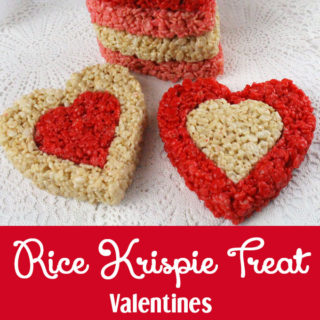 Rice Krispie Treat Valentines
