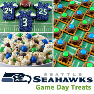 Seattle Seahawks Game Day Treats
