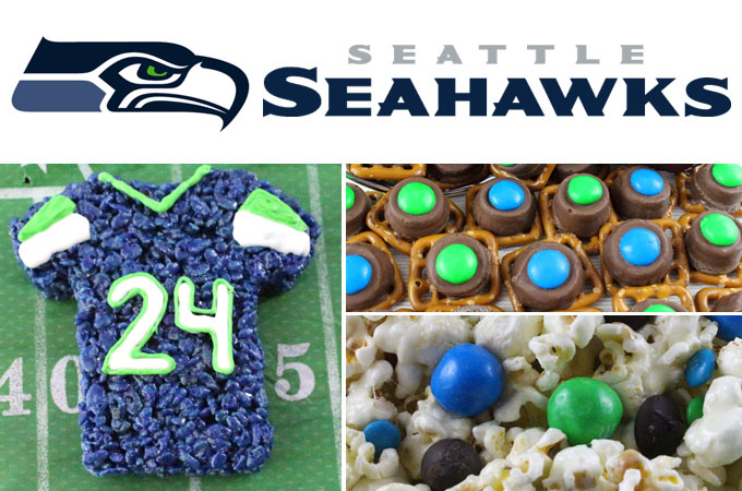 Seattle Seahawks Game Day Treats - Two Sisters Crafting