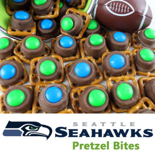 Seattle Seahawks Pretzel Bites
