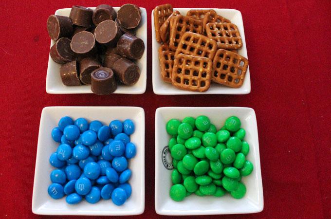 Ingredients for Seattle Seahawks Pretzel Bites