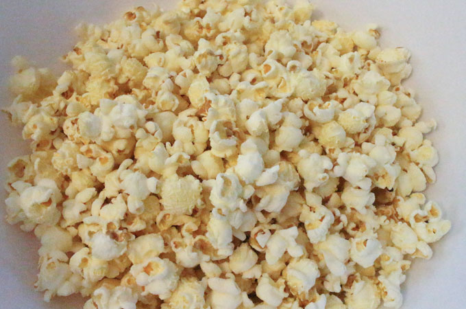 Popcorn - Freshly popped on the Stove