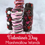 Valentine's Day Marshmallow Wands
