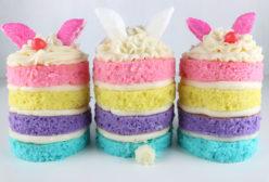 Bunny Mini Cakes