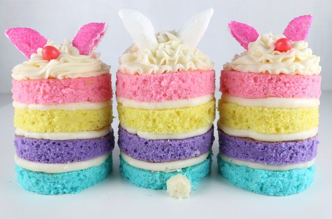 Bunny Mini Cakes - Two Sisters