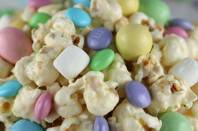 Easter candy popcorn celebrate with our easter candy popcorn a fun easter dessert that is both sweet and negle Choice Image