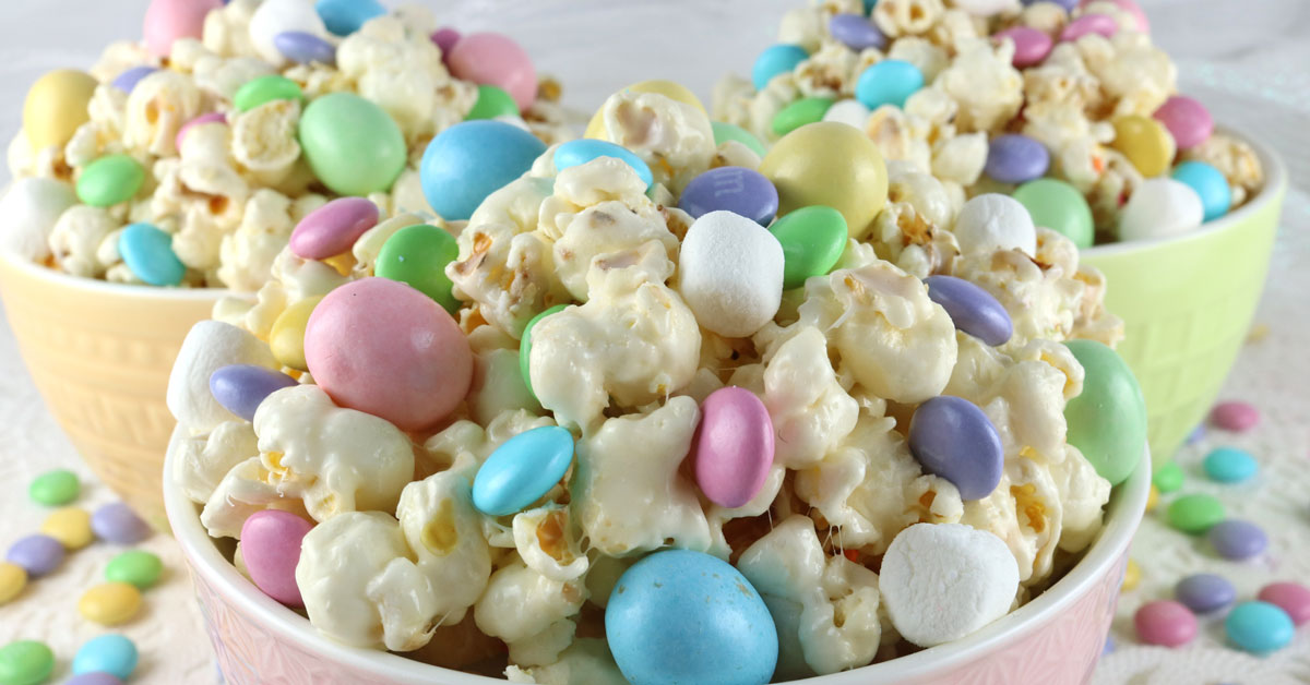 Easter candy popcorn two sisters crafting negle Gallery