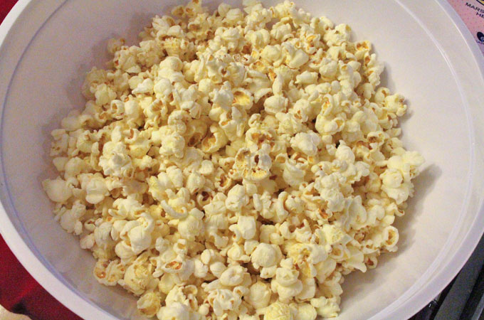 Popcorn for Easter Candy Popcorn