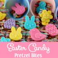 Easter Candy Pretzel Bites