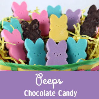 Peeps Chocolate Candy
