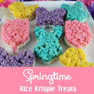 Springtime Rice Krispie Treats