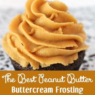 Best Peanut Butter Buttercream Frosting