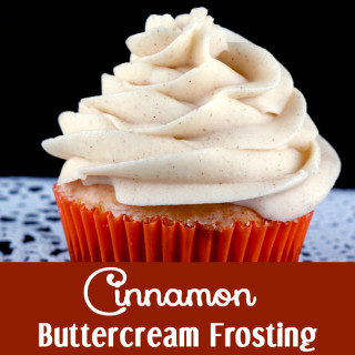 Cinnamon Buttercream Frosting