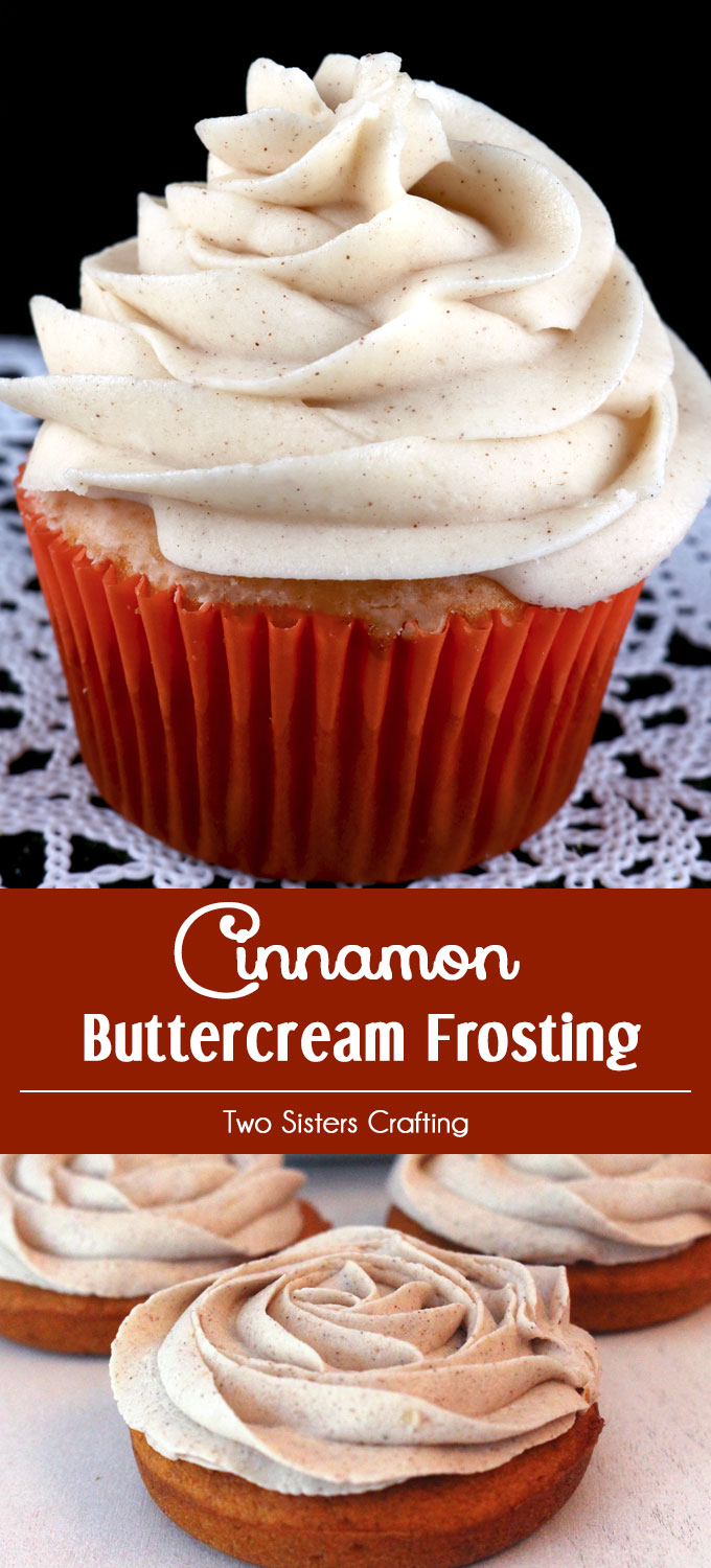 Cinnamon Buttercream Frosting is the perfect frosting for your pumpkin ...