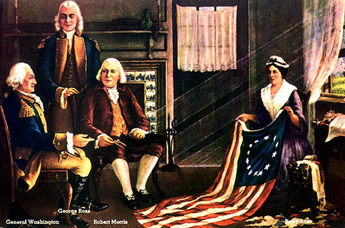 Fun Facts about the Dolly Madison American Flag