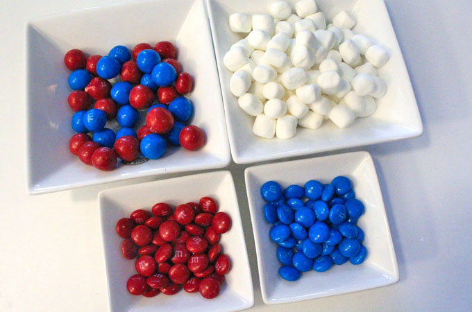 Candy for the Patriotic Popcorn