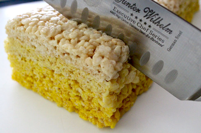 Slice the Sunshine Rice Krispie Treats