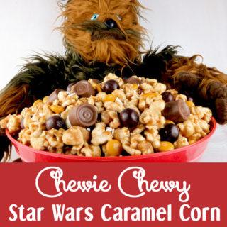 Chewie Chewy Star Wars Caramel Corn