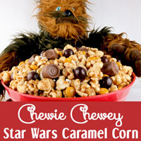 Chewie Chewey Star Wars Caramel Corn