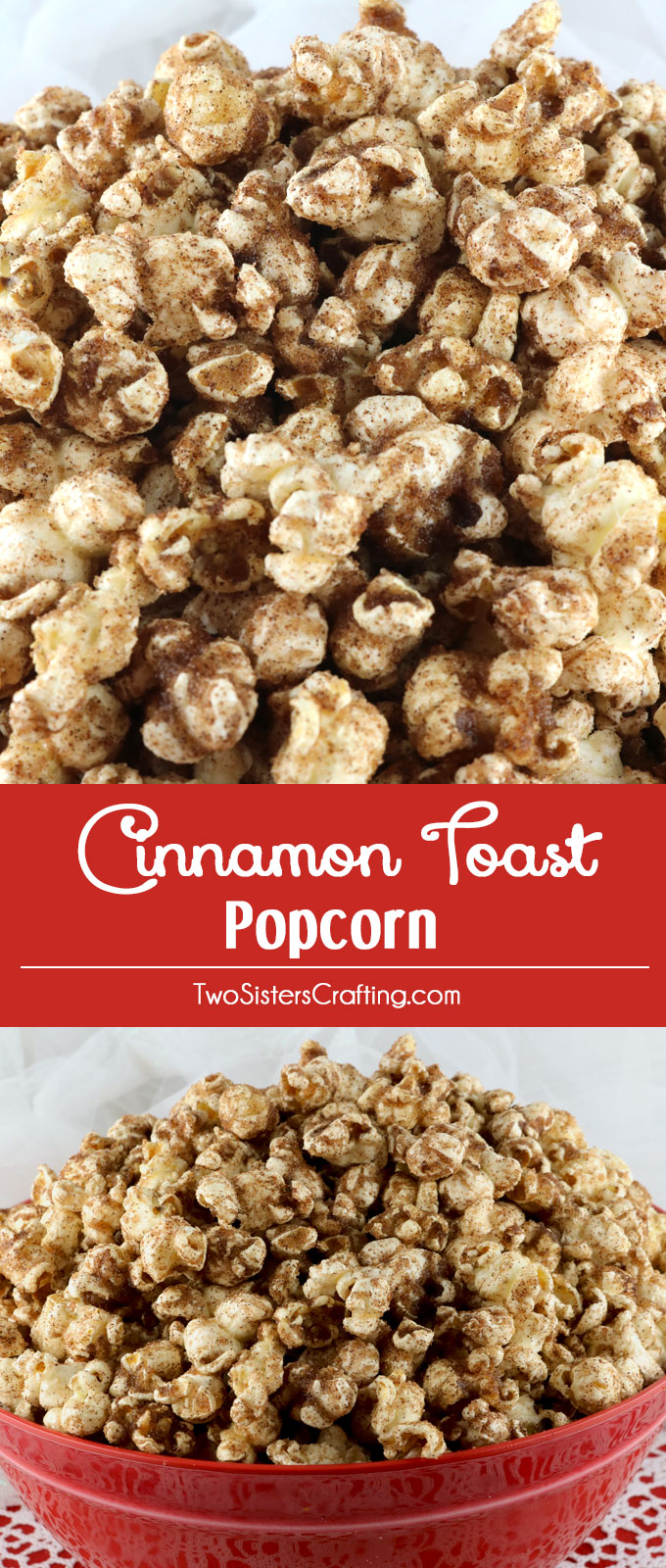 how to make cinnamon sugar popcorn