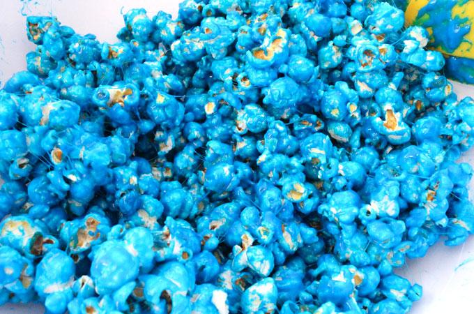Blue Cookie Monster Popcorn