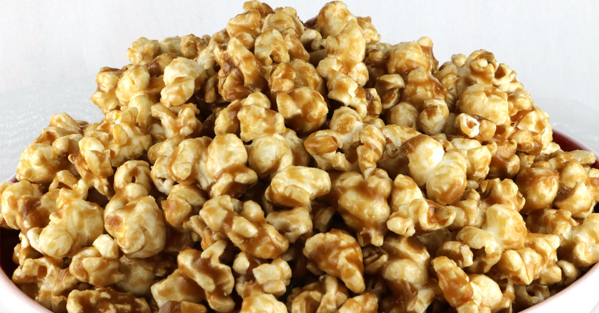 Easy Homemade Caramel Corn - Two Sisters Crafting