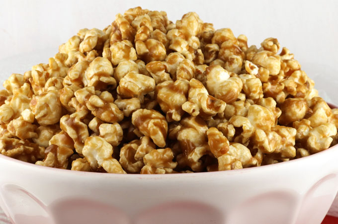 How to make caramel popcorn no bake