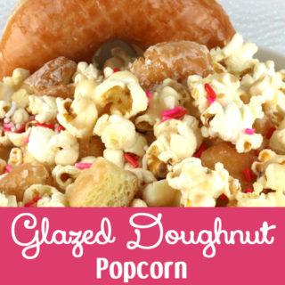 Glazed Doughnut Popcorn
