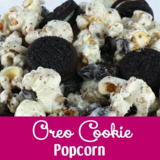 Oreo Cookie Popcorn