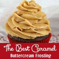 The Best Caramel Buttercream Frosting