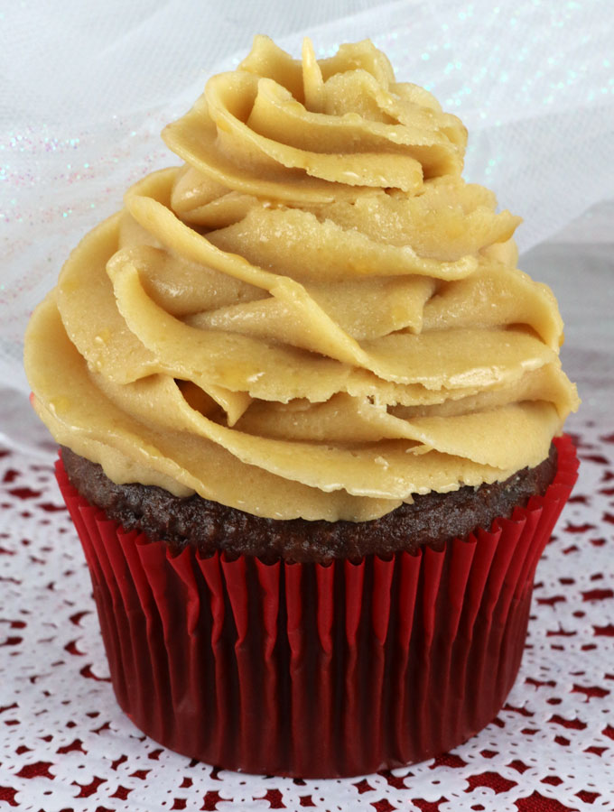 ... butter cream frosting ... this is the yummy caramel frosting recipe