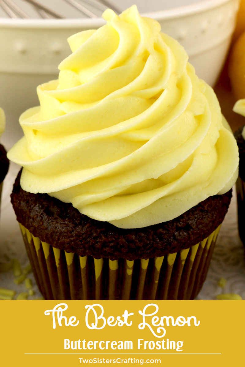 The Best Of The Worst: The Best Lemon Buttercream Frosting