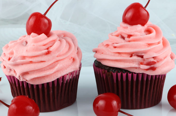 The Best Maraschino Cherry Buttercream Frosting Two Sisters