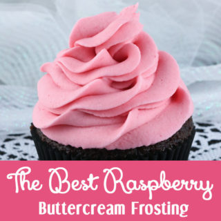 The Best Raspberry Buttercream Frosting