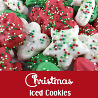 Christmas Iced Cookies
