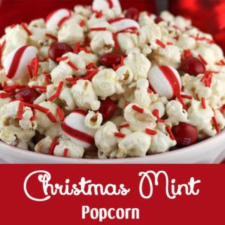 Christmas Mint Popcorn