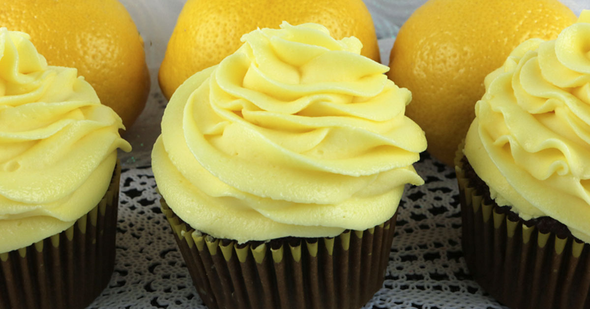 The Best Lemon Buttercream Frosting Two Sisters