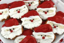 Santa Claus Pretzel Bites