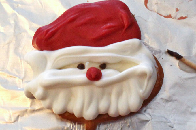 Santa's Eyes