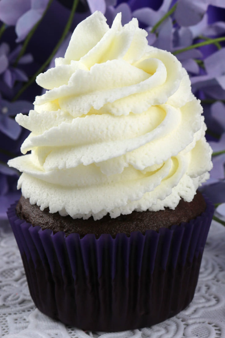 The Best Whipped Cream Frosting Two Sisters