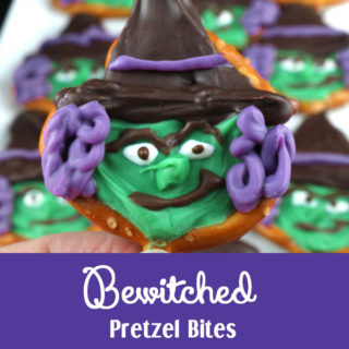 Bewitched Pretzel Bites