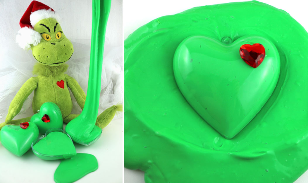 Grinch Slime Two Sisters