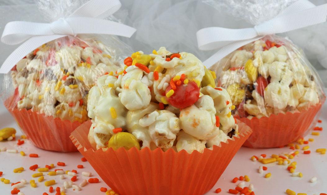 Halloween Popcorn Balls Two Sisters
