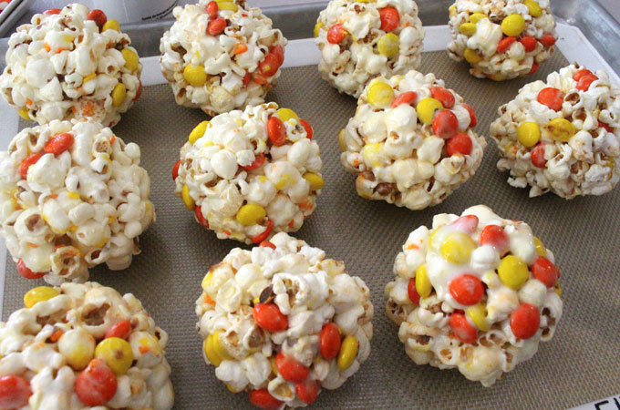 Create the Halloween Popcorn Balls