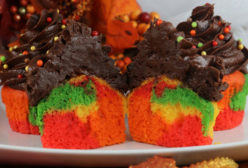 Harvest Marble Cupcakes