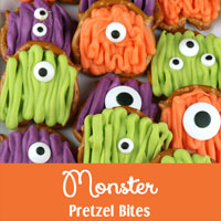 Monster Pretzel Bites