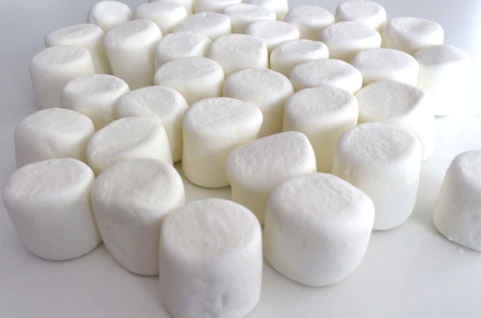 Preparing the Marshmallows