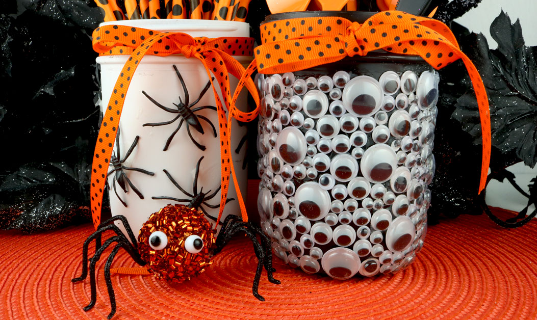 Spooky Halloween Mason Jars Two Sisters