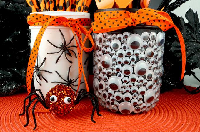 Spooky Halloween Mason Jars Two Sisters